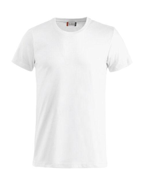 Basic -t-shirt hvit