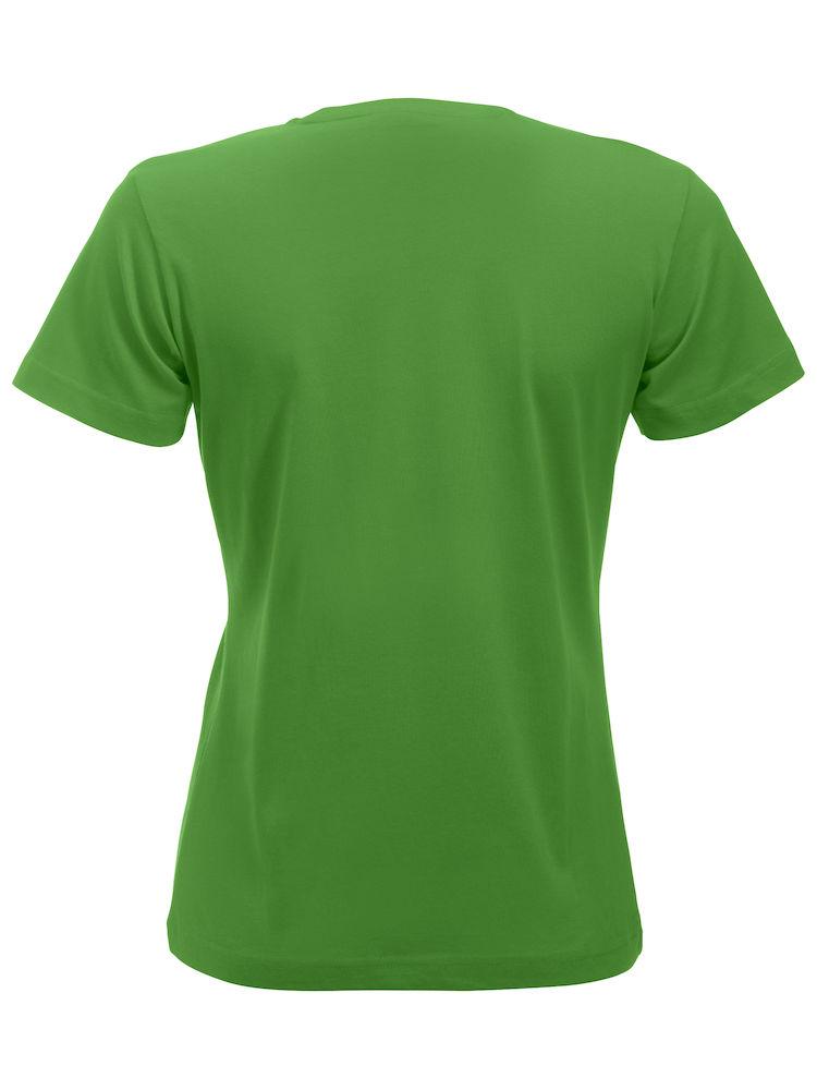 Basic -t-shirt jente grønn bak