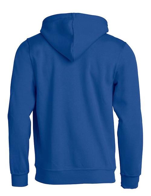 Basic Hoodie blå bak