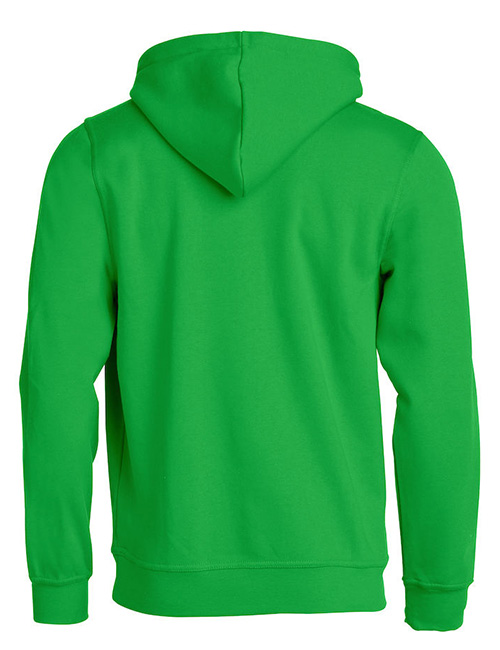 Basic Hoodie grønn bak