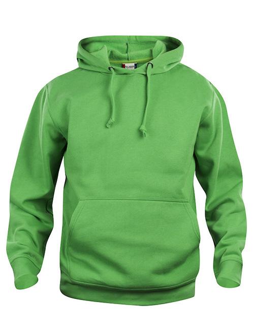 Basic Hoodie grønn framme