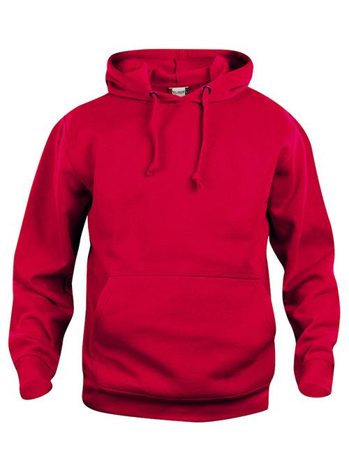 Basic Hoodie rød framme