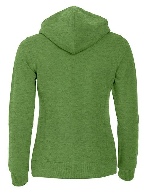 Classic hoody jente grønn bak