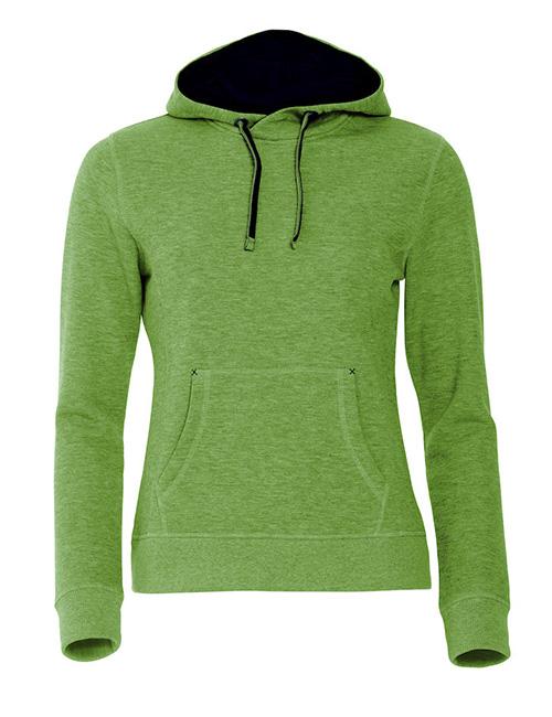 Classic hoody jente grønn framme