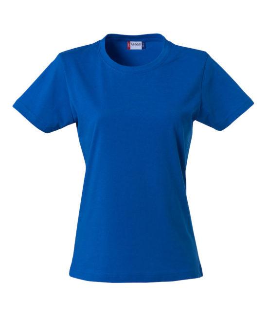 Basic -t-shirt jente blå