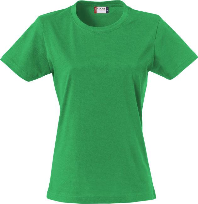 Basic -t-shirt jente grønn