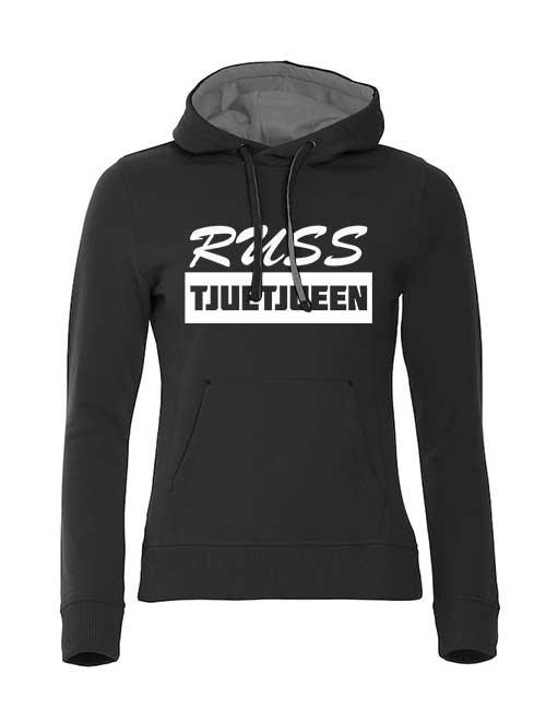 hoodie-russ-tjuetjueen-sort-med-hvitt-trykk
