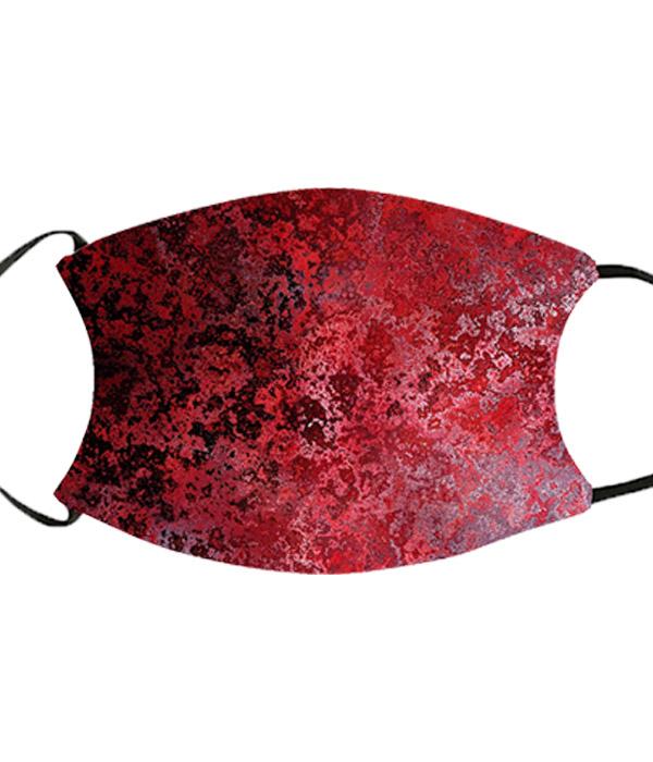 Munnbind rødt