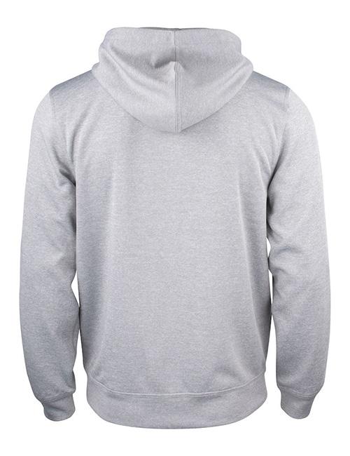Basic Active hood full zip bak grå
