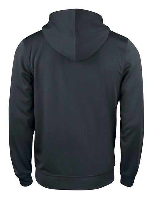 Basic Active hood full zip bak sort