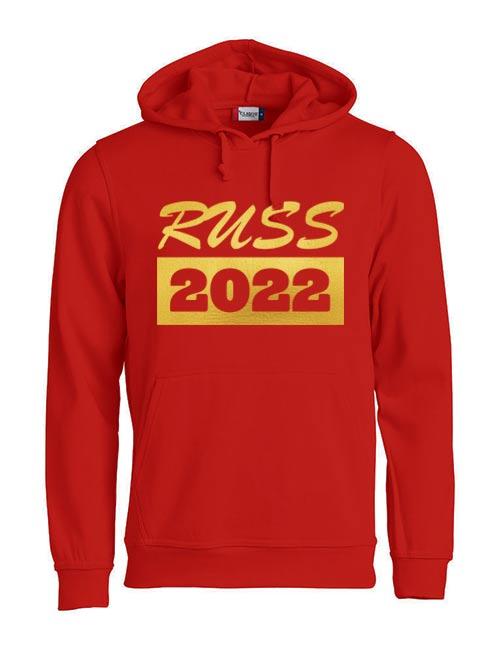 Basic hoodie russ 2022 red