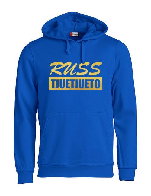 Basic hoodie russ tjuetjueen blå