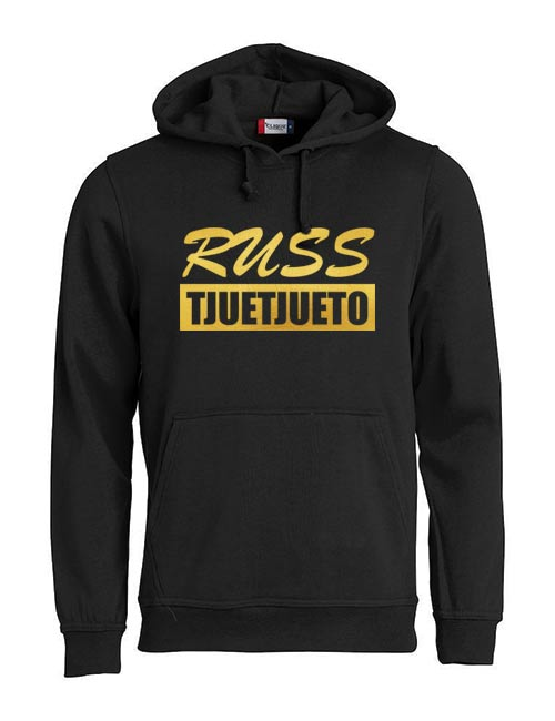 Basic hoodie russ tjuetjueen sort
